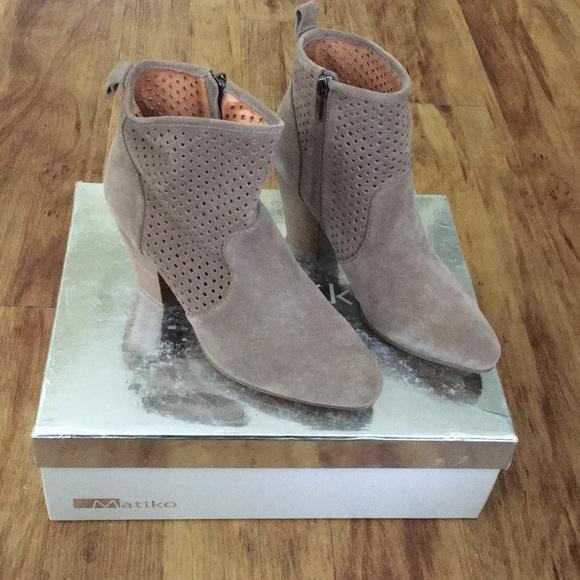 Matiko Shoes - Final Price!! MATIKO Marlin Bootie US Size 6